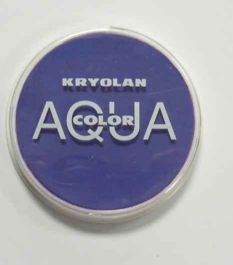 Aquacolor makeup Dark Blue 510