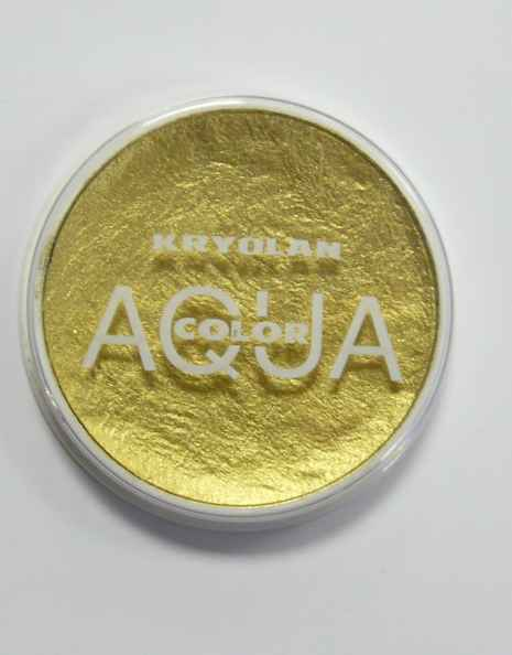 Aquacolor makeup Gold GO
