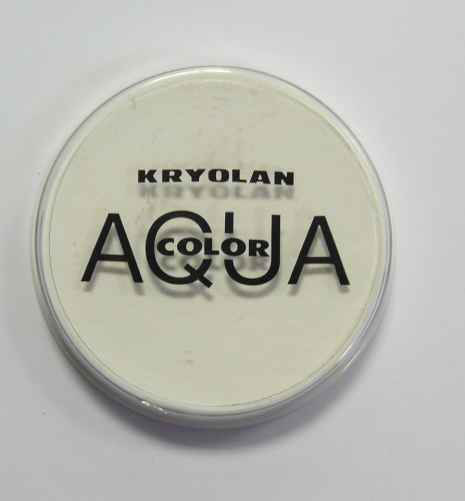Aquacolor makeup White 070
