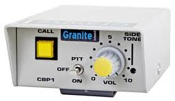 Granite Single channel belt pack with volume and call light