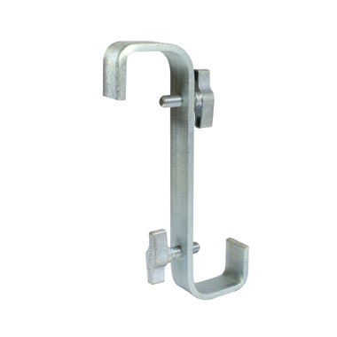 T19910 - Hook Clamp Double Ended 180 Twist (600mm Centres)