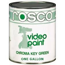 Rosco Chroma Key Paint Green